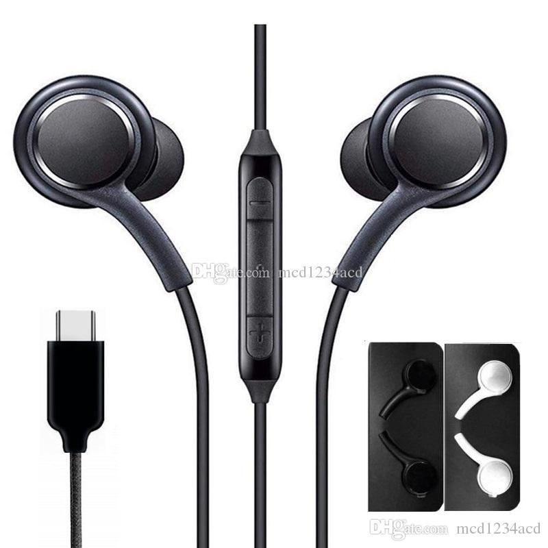Universal Type C Inner Earphone Wired Mic Volume Control Earphones Headphone Earbuds For Samsung Galaxy Note 10 A60 S8 S10 Android Phone Best Cell Phone Earbuds Best Wired Earbuds From Mcd1234acd 1 91