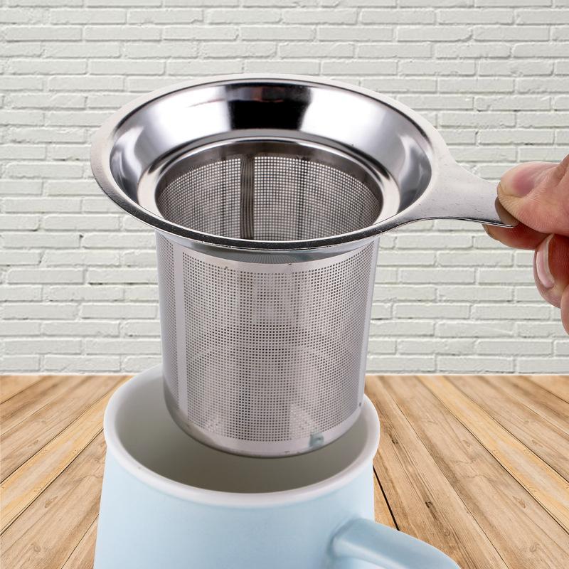 Многоразовый сетка из нержавеющей стали чай Infuser ситечки для чая чайника Tea Leaf Спайс Фильтр Drinkware Кухонные принадлежности