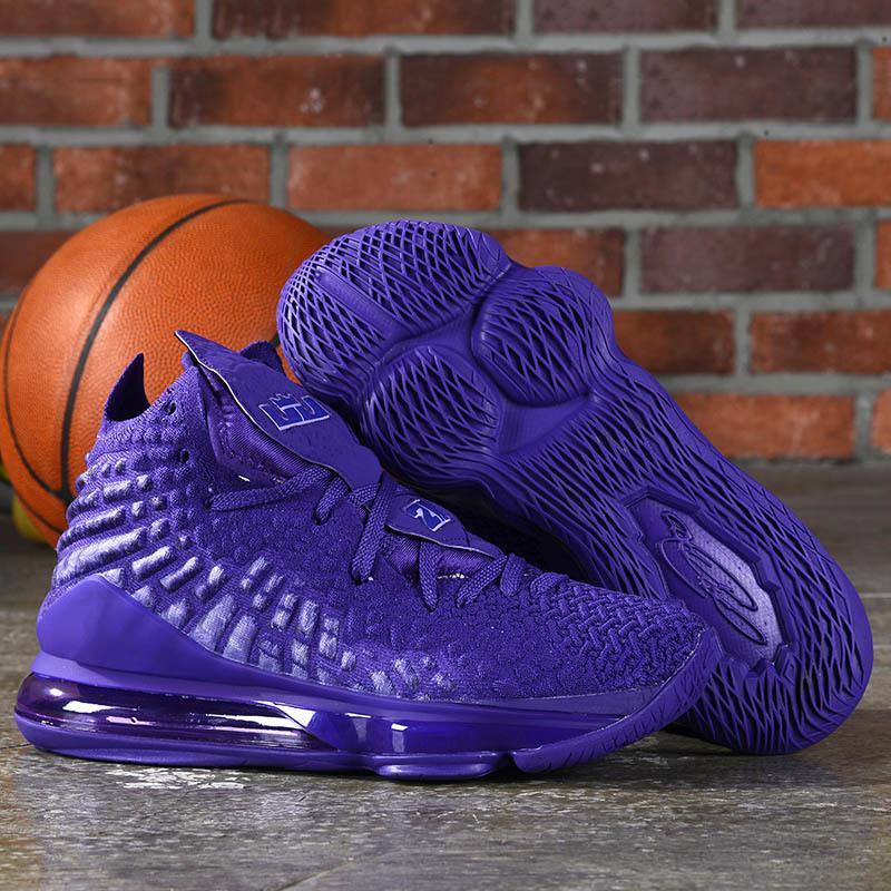 Alta calidad James Lo que el XVII 17 zapatos de baloncesto 17s Tamaño Media Day LeBron Palmer con sabor a fruta de piedras Alfombra roja para hombre de las zapatillas de deporte 40-47
