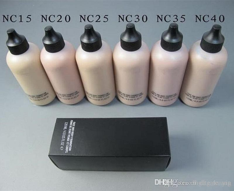 HOT Sale Makeup Face And Body Foundation FOND DE TEINT VISAGE ET CORPS 120ml ePacket shipping