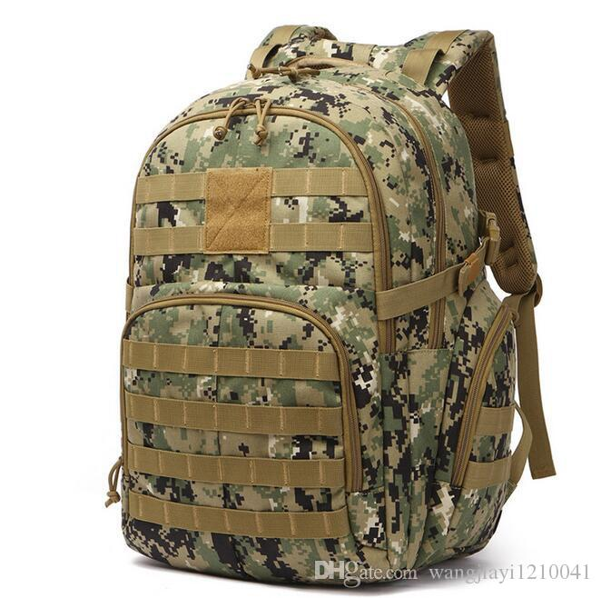 Viaggio Camouflage 2021 Zaino Donne che camminano alpinismo DACRON DACRON BAG BAG BAG BAG NUOVI UOMO E AMPERMEABILE Borsa multifunzione multifunzione OUT XPRT