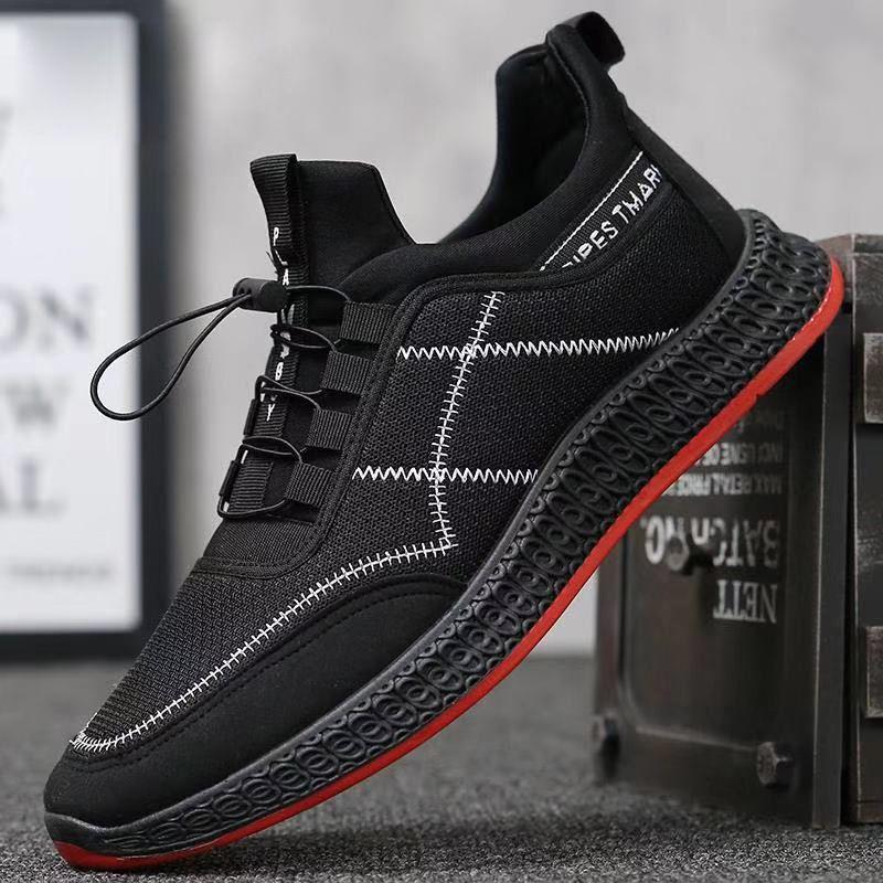 2020 Männer Art und Weise Mesh-Turnschuhe männlich Sportschuhe Lace-Up Leichte Schuhe Männliche Schuhe De Mujer Trainings Schuhe Herren