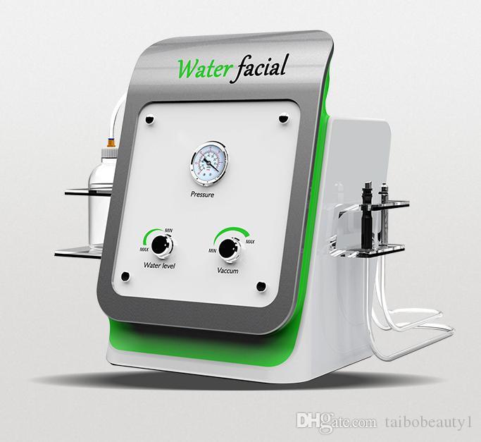 Macchina portatile di microdermoabrasione dell'ossigeno della pelle del cristallo 2 in 1 di prezzi migliori all'ingrosso con il supporto tecnico professionale