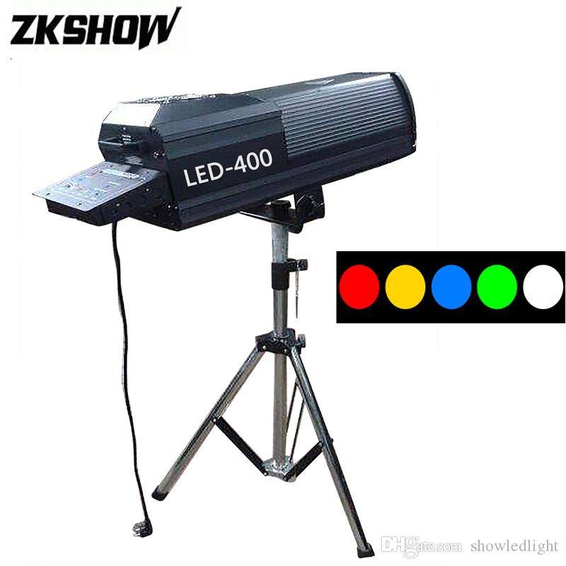 Ponto Contol LED Siga Spot Chasing Light 200/300/400 W Luce Efeito de Iluminação de Palco DJ Discoteca Música Show de Equipamentos Com Flightcase
