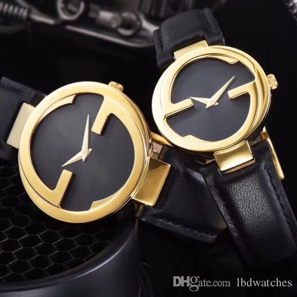 marca de moda de negocios de alto grado relojes de los amantes de la personalidad mira a los hombres y mujeres del reloj del espejo de cristal de cuarzo cristal de zafiro movimiento