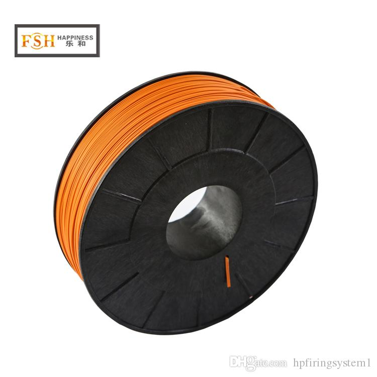 FedEX Free shipping, 1 rolls/lot,500M Fireworks Shooting Wire fireworks firing system 0.45mm copper core wire