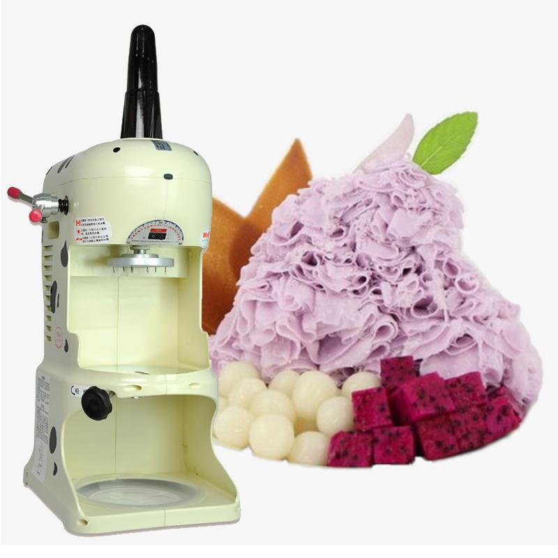 Commercial ice crusher automatic snowflake fast ice maker high quality electric high power smoothie machine for sale
