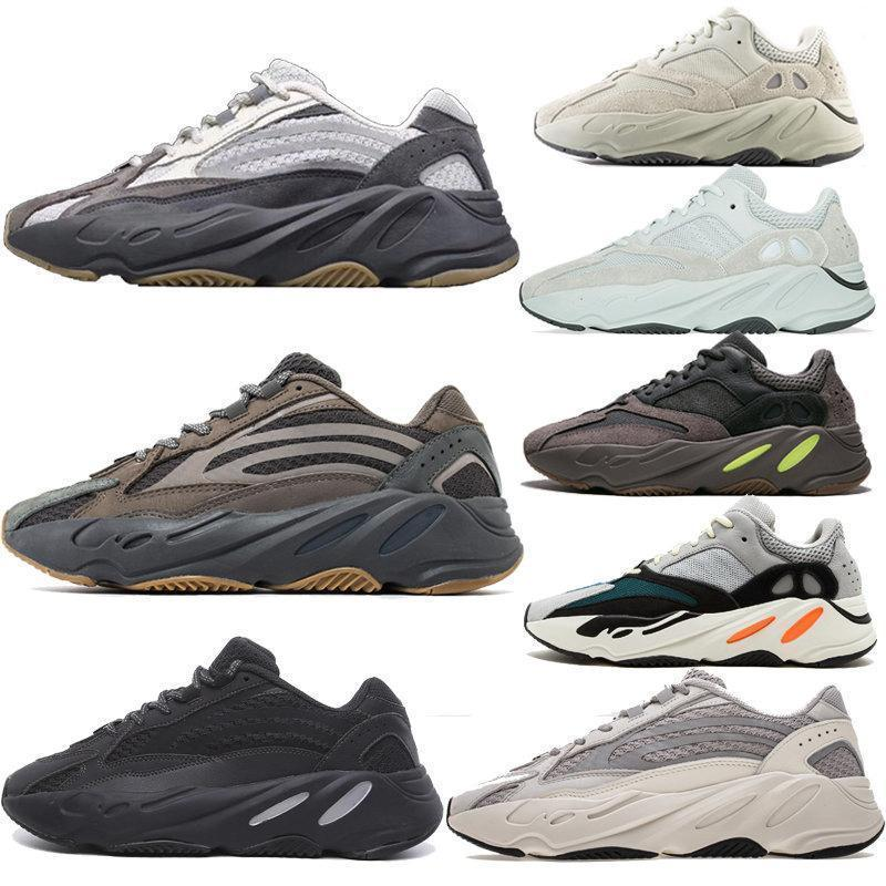 New 700 Wave Runner Mauve Inertia Mens Shoes Kanye West Designer Shoes men Women 700 v2 Static Sports Seankers size 36-45 #04bc13#
