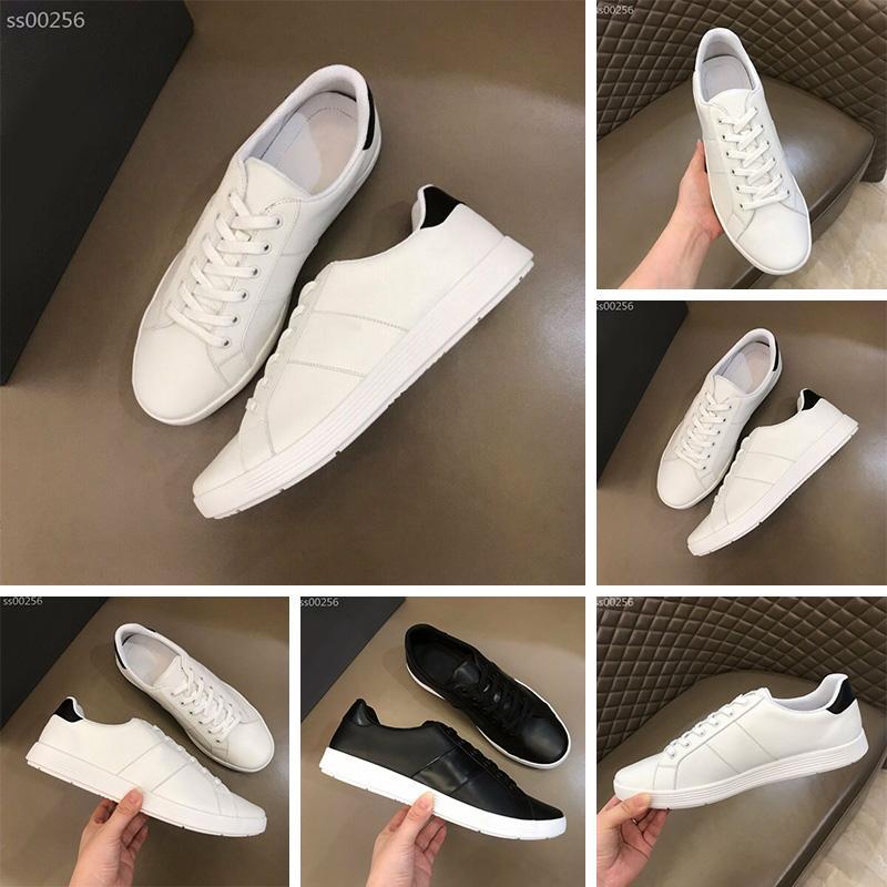 Haute qualité Mode Hommes Casual Chaussures De luxe Designer Sneakers Top Qualité En Cuir partie Classique Blanc Noir Casual Chaussures Taille 39-45