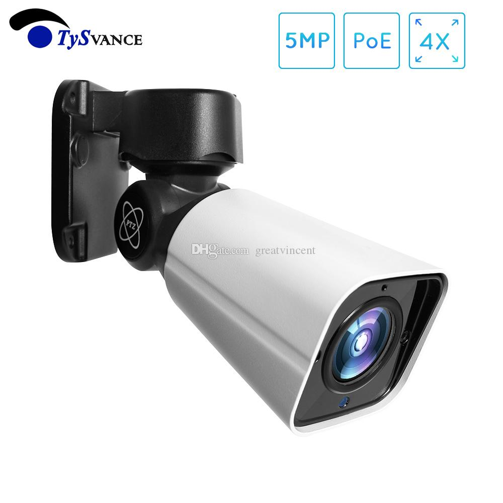 Super HD 5MP PTZ Bullet IP Camera Outdoor 4X Optical ZOOM Network PTZ Camera Waterproof IP66 IR 50M CCTV Security 48V POE