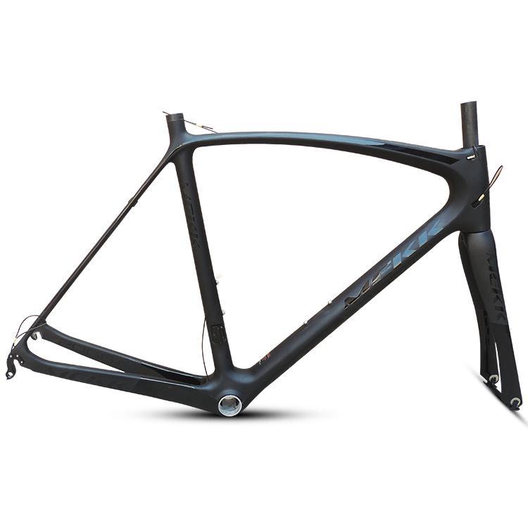 dernier 53 54 56 59cm New bicyclette cyclisme sur route de cadre de vélo de route en carbone frameset clairance de la trame de la marque avec du carbone à fourche