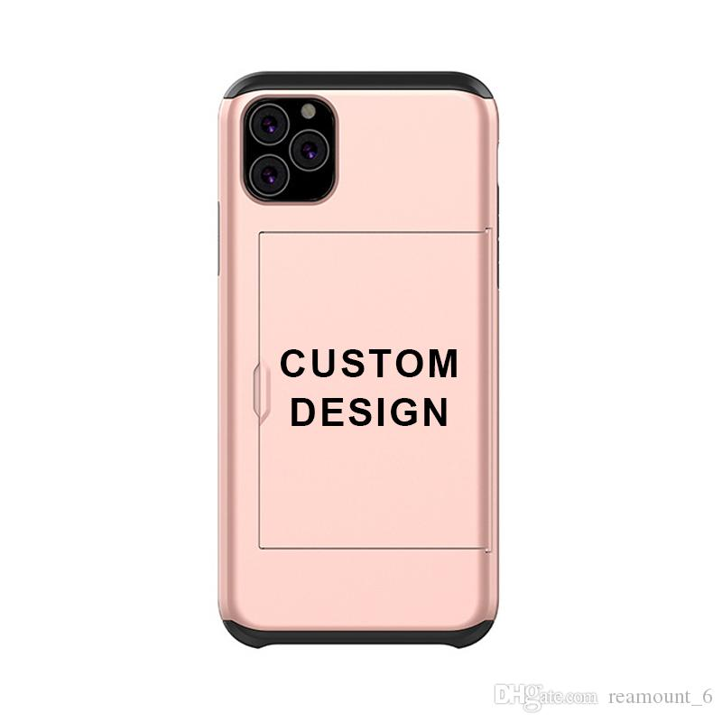For iPhone 11 Case Dual Layer Protective Cover 2 In 1 Shockproof Phone Case For Iphone 11 Pro Max 7 Can Be Customized