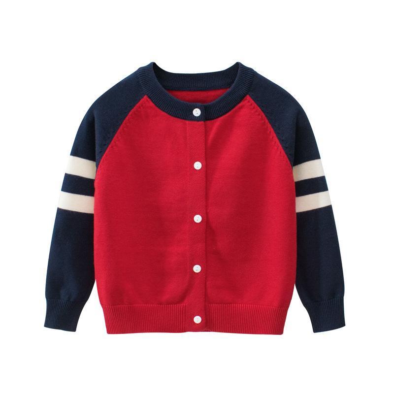 Kız Erkek Triko için ceket Hırka bebek erkek ceket çocuklar ceket Kazak kış sonbahar çocuklar Dış Giyim Çocuk giysileri Tops