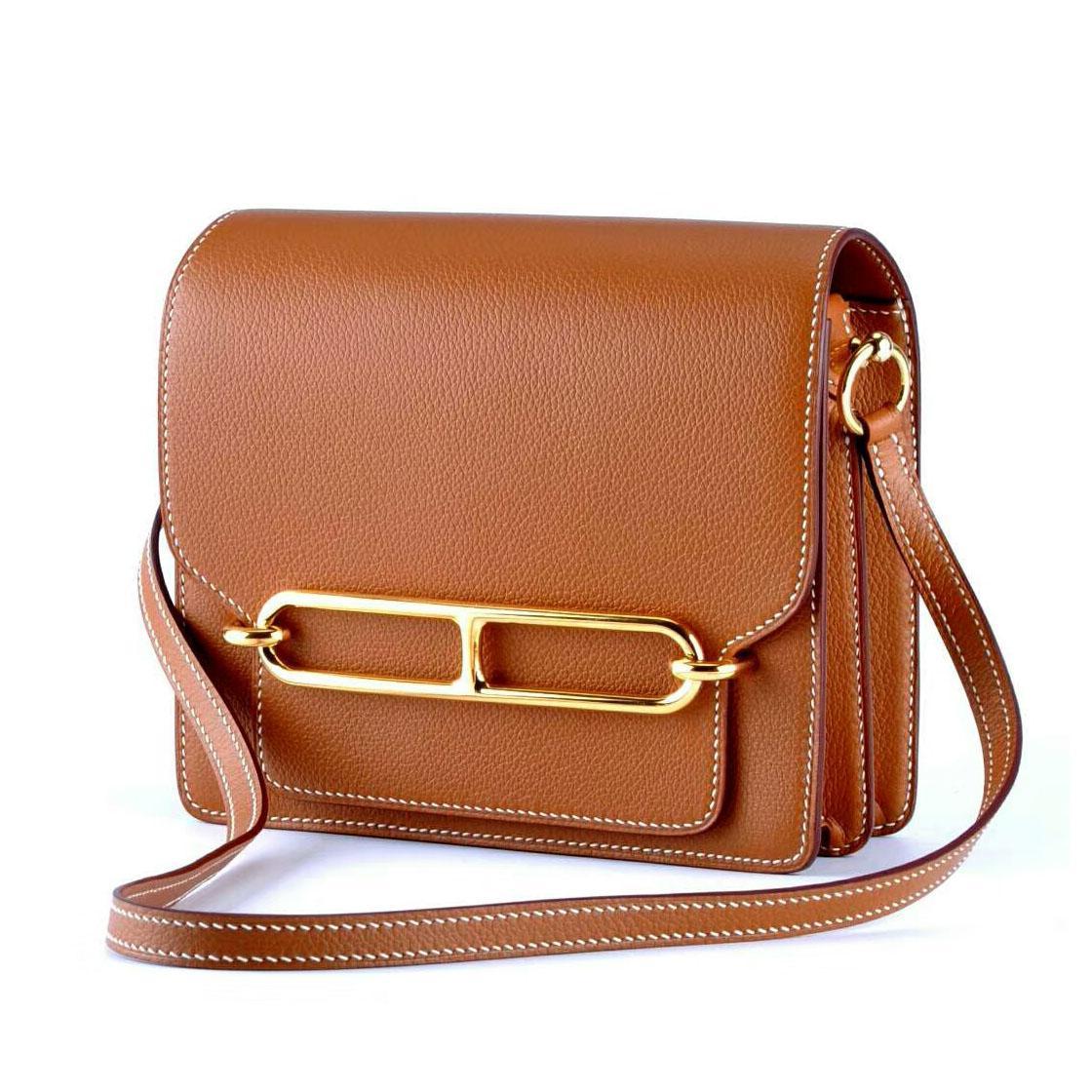 Sac en cuir à la main Femmes 2020 Nouveau cuir Atmospheric Casual épaule Messenger Bag Petit sac Livraison gratuite