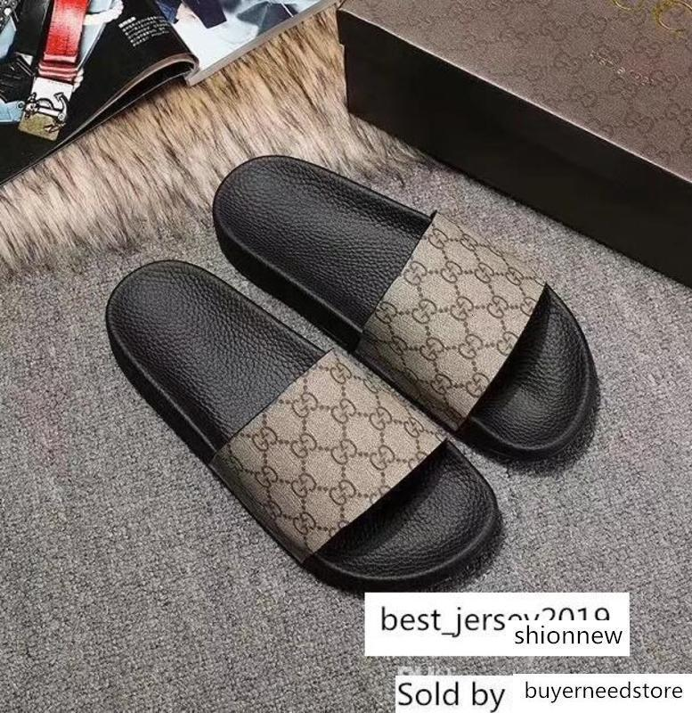 luxury Men Women s Rubber Sandals Colourful Casual G Print Tiger Snake Bee Cat Slippers Leather Flat Shoes Flip Flop 35-45