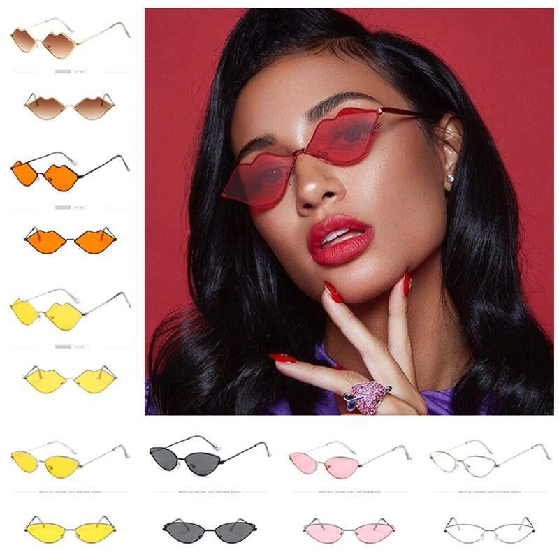 Женщины Конструктор Cat Eye Солнцезащитные очки металлический каркас Cateye ВС Очки ретро Урожай Shade океана объектив солнцезащитные очки Открытый пляж очки 2019