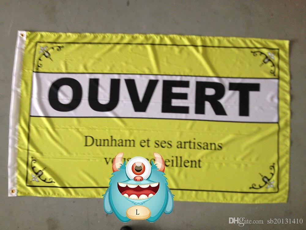 ouvert flag ,ouvert banner, 90X150CM size,100% polyster 100% polyester 90*150cm,Digital Printing