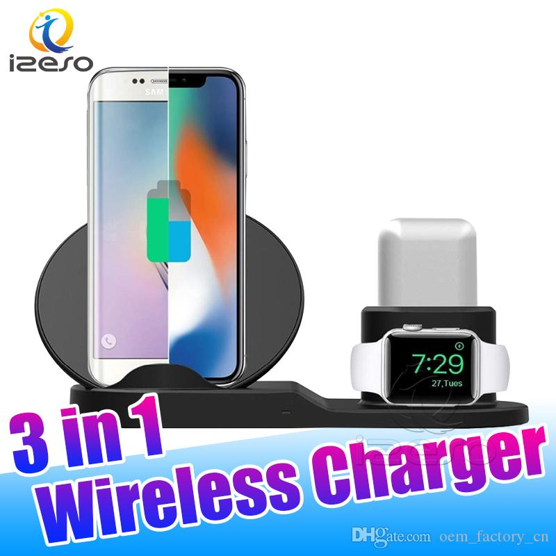2020 Fast Wireless Chargers For Apple Watch 2 3 4 5 Airpods Pro Qi