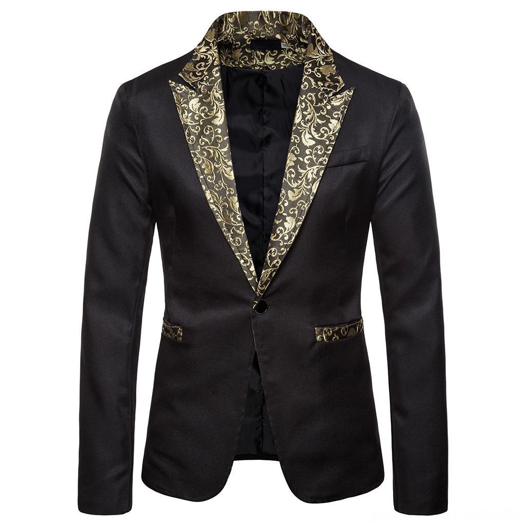 Костюмы Puimentiua Осень блестящие золотые блестки мужские блейзеры Мужская одежда с блестками Украшенные Blazer Мужчины Ночной Пром костюм Blazer Мужчины Costu