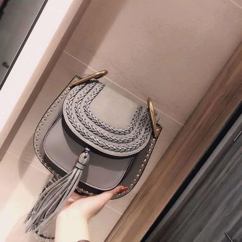 Ysiykiy Classic Women Luxury Luxury Pu C Designer Tassel Freeship Shoulder Fashion Saddle Bag Fashion 2020 Bag Vintage Messenger Gjhod