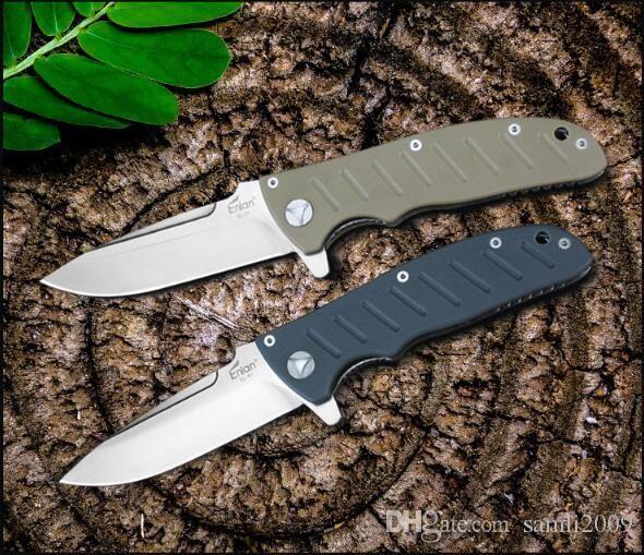 Новый высший класс OEM Enlan EL-01KH складной нож 8CR13Mov лезвие G10 ручка 58-60 твердость кемпинг открытый карманный EDC инструменты оптовая цена