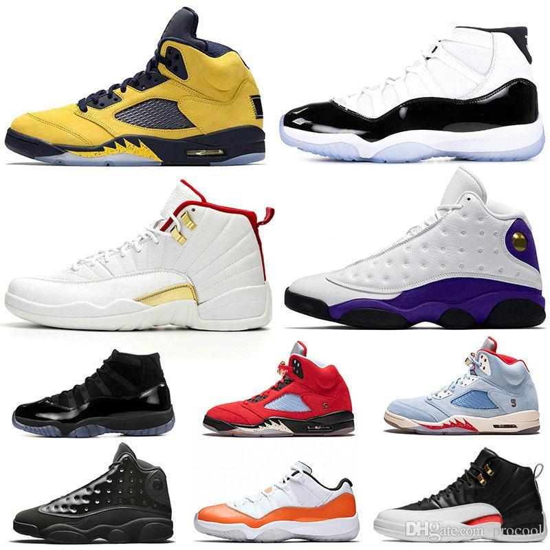 2019 Новый 5s FAB 5 TROPHY ROOM Мужские баскетбольные кроссовки FIBA 12s Sneakerin Concord 11s Кепка и платье 13s Мужские ретроспективы Спортивные кроссовки 7-13