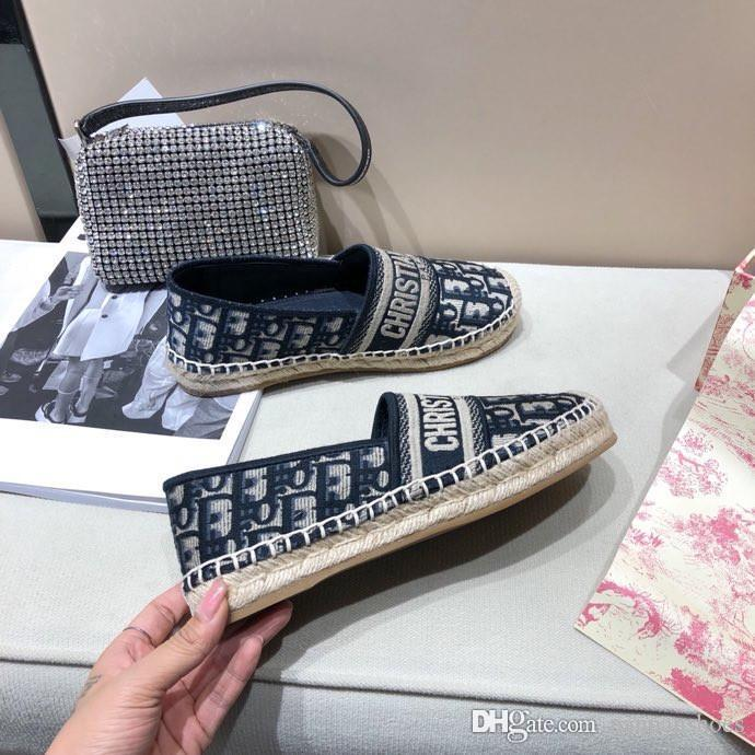 Fashion Designer Women Shoes Ladies Comfortable Platform Espadrille Shoes Designer Espadrille Heel Height Size 35 40 Da200410 Buy Shoes Online Slip On Shoes From Panpanshoes 96 45 Dhgate Com