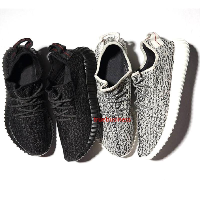 2020 zapatos de la mejor calidad Kanye West estático pirata Negro Tórtola Moonrock Oxford estático Blaek reflectante Hombres Mujeres 36-48 zapatillas de deporte