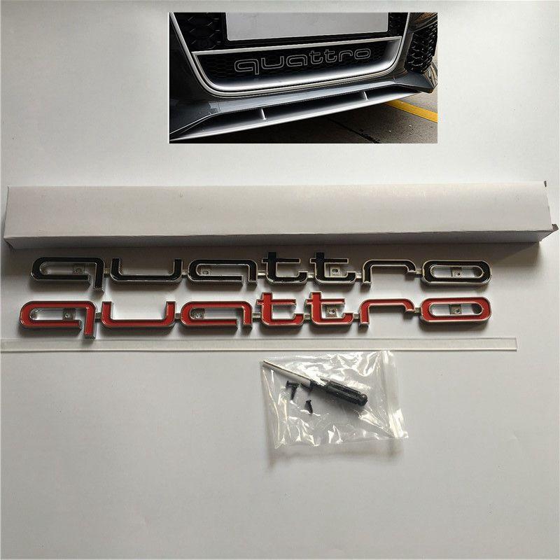 Audi sq5/Inscription avant original exterieur Calandre Logo Embl/ème Chrome