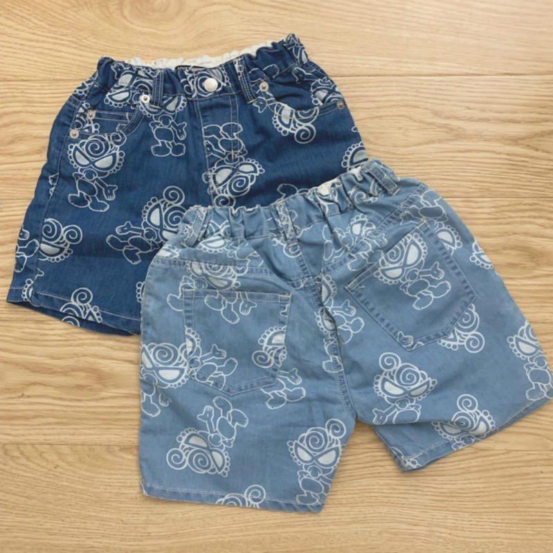 Los niños de lujo de diseño cortocircuitos de la manera del cortocircuito del verano Pantalones vaqueros Niños Niñas venta de la manera suelta pantalones cortos de los niños unisex Impreso cortocircuitos calientes