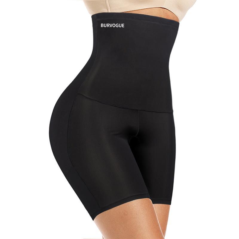 Burvogue vita alta Tummy Controllo Mutandine di dimagramento della vita Trainer Butt Lifter Shapewear senza giunte sexy della biancheria intima Remodelant Panty CX200624