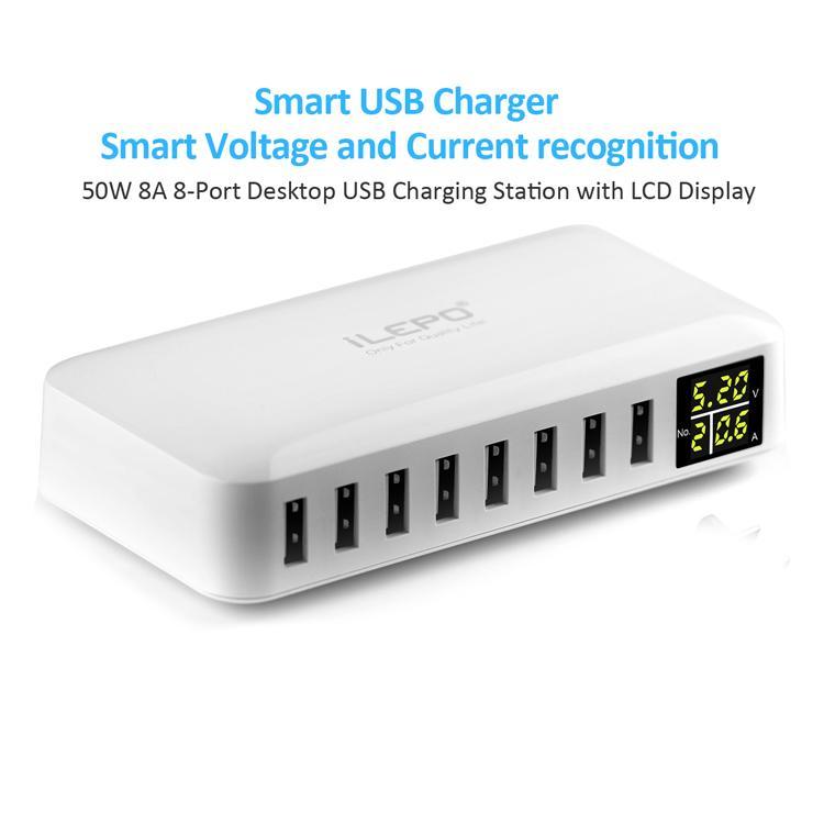 디스플레이 급속 충전기 3.0 여행 어댑터와 DHL 익스프레스 멀티 포트 스마트 USB 충전기 홈 플러그 휴대 전화 아이폰 아이 패드 프로젝터