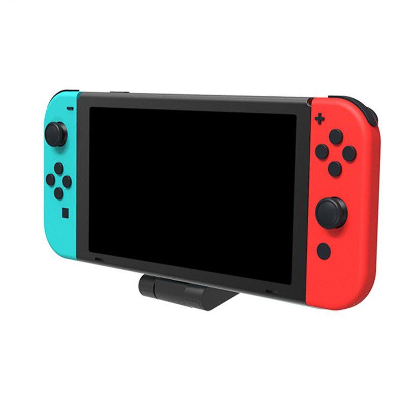 Charger Stand para Nintendo Switch e Nintendo Mudar Lite, carregador Station Dock para Mudar Lite ConsoleType-C Carregador USB