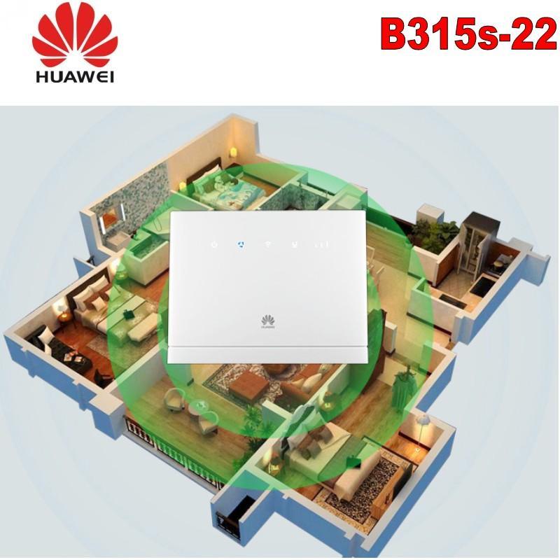 HUAWEI B315 B315S-22 déverrouillé avec antenne CPE 150Mbps 4G LTE FDD TDD PK sans fil E5186 B310 B593