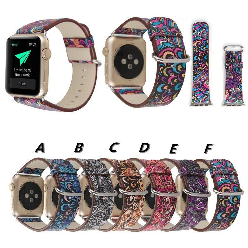 Vintage klassisches Lederarmband für Apple Watch Serie 4 3 2 1 Band Schnalle Uhrenarmbänder 38 42 40 44mm für iwatch Edition