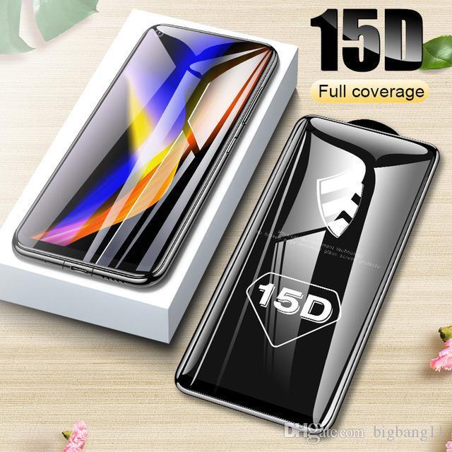 Хорошее качество 15D Защитное стекло для Huawei P20 Lite P30 Pro P10 Plus Закаленное защитное стекло для Huawei Honor 10 9 Lite Стекло