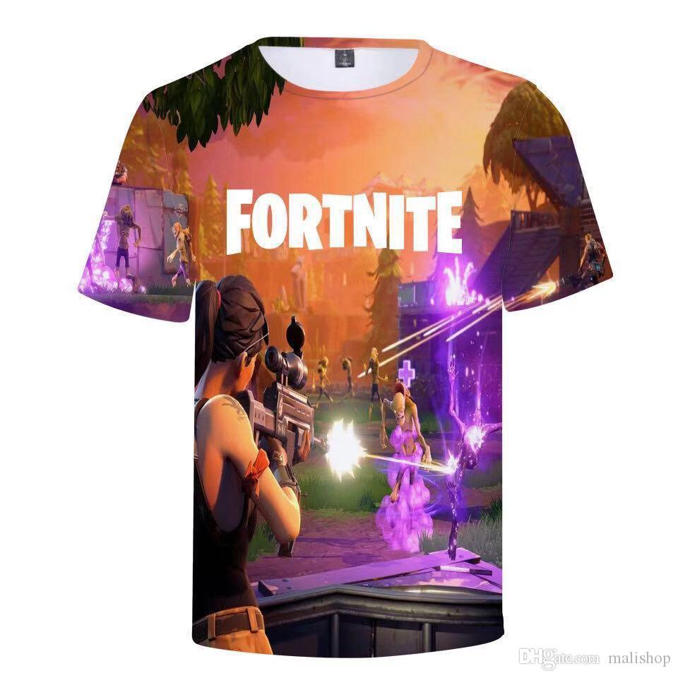 Enfants et adultes 3d T-shirt imprimé Homme unisexe Casual COURTES cosplay T-shirt de jeu garçon drôle T-shirts