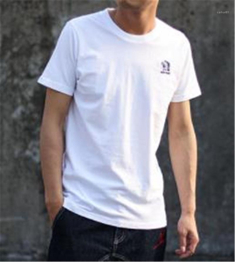 İnce Mürettebat Boyun Casual Luxury Mens Tees Hint Baskı Erkek Tasarımcı Katı Renk Nefes Tshirt Tops