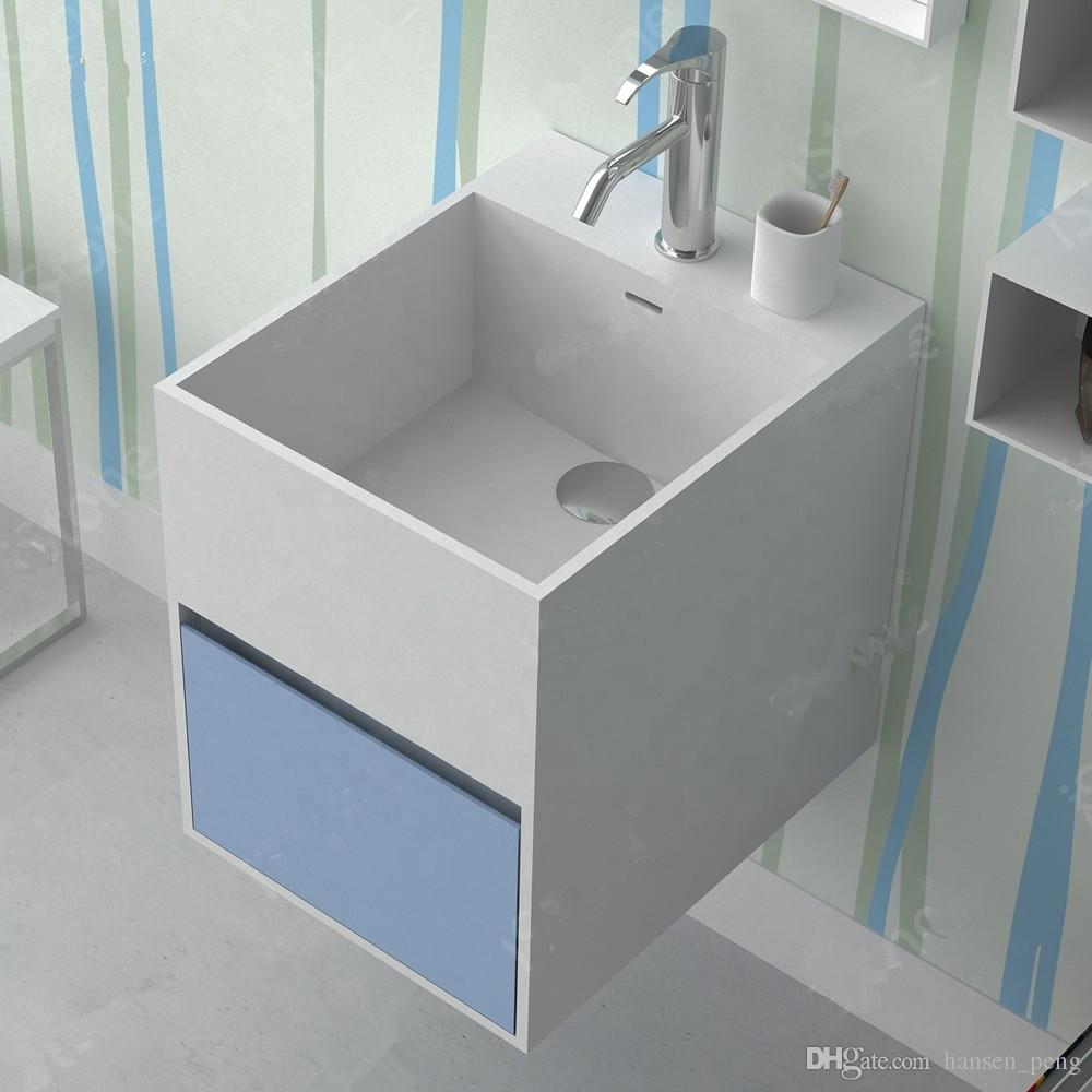 Come Pulire Il Lavabo In Resina acquista lavabo rettangolare sospeso lavabo da parete guardaroba alla moda  in corian lavabo da appoggio solido resina lavabo rs38423 a 753,5 € dal