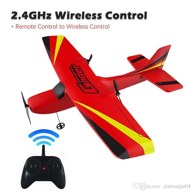 Z50 RC Plane 2.4G sem fio aviões de RC EPP espuma Construído Gyro Glider Plane Rádio-Controlado avião Aircraft Air Toy para Kid Boy