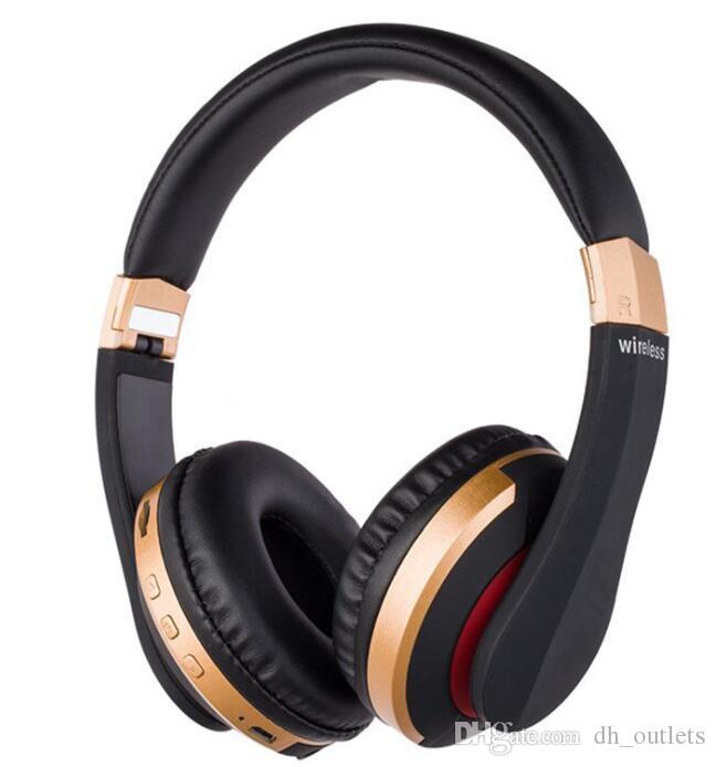 stok kablosuz kulaklık 11 renkler kulak kulaklıklar üzerinde kafa bandı MARKA kulak kulaklık DJ ROSE GOLD mat siyah 3,0 Kulaklıklar bluetooth