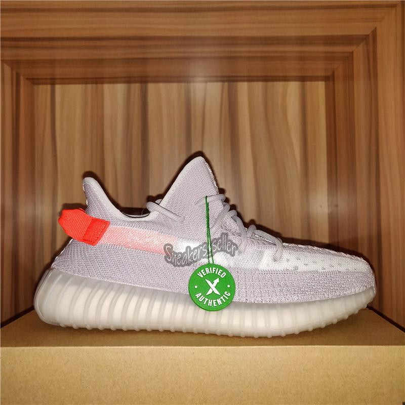 2020 Kanye West Sneakers Tail Light Earth Flax Cinder Reflective Israfil Linen Yecheil Men Women Running Shoes With Box Size US4-13