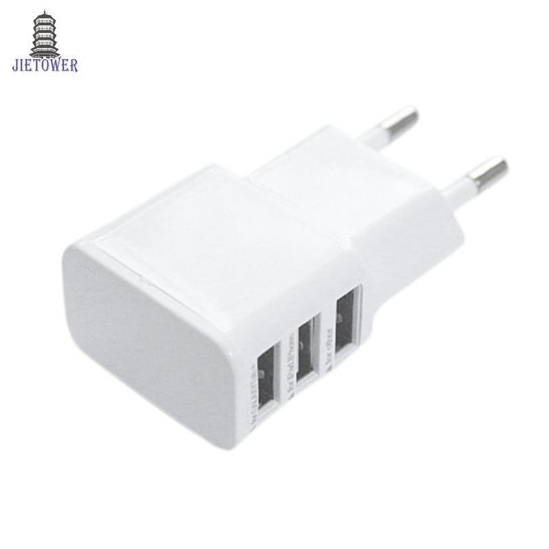 5V 2A EU Multi USB 충전기 장치 플러그 Oneplus 아이폰 6 5S 5 4S에 대 한 삼성 갤럭시 S5 여행 Usb 전원 어댑터 벽 충전기 100pcs / lot