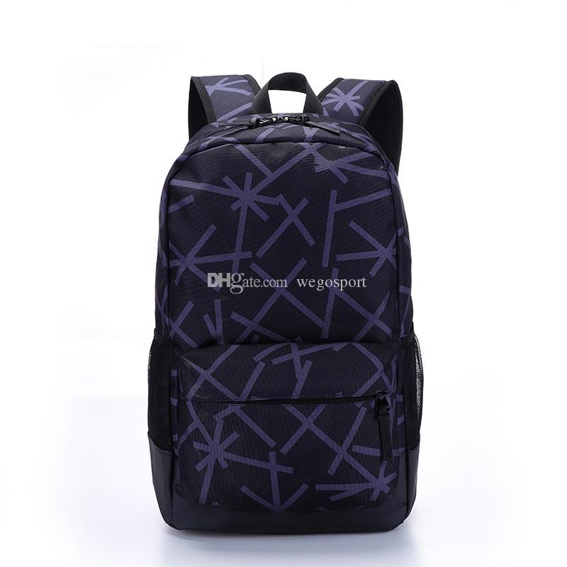 stylist Mochila Grande Capacidade Outdoor Backpack Homens Mulheres Todos-jogo listras Bolsa Escola estilista sacos de viagem Mochila