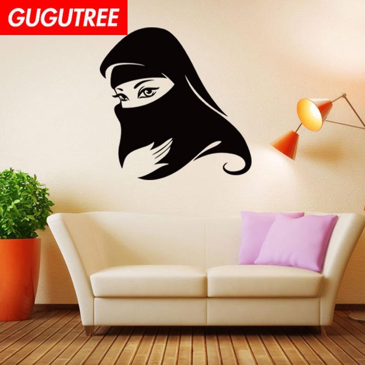 Decorate Home girls belle cartoon art wall sticker decoration Decals mural painting Removable Decor Wallpaper G-2004