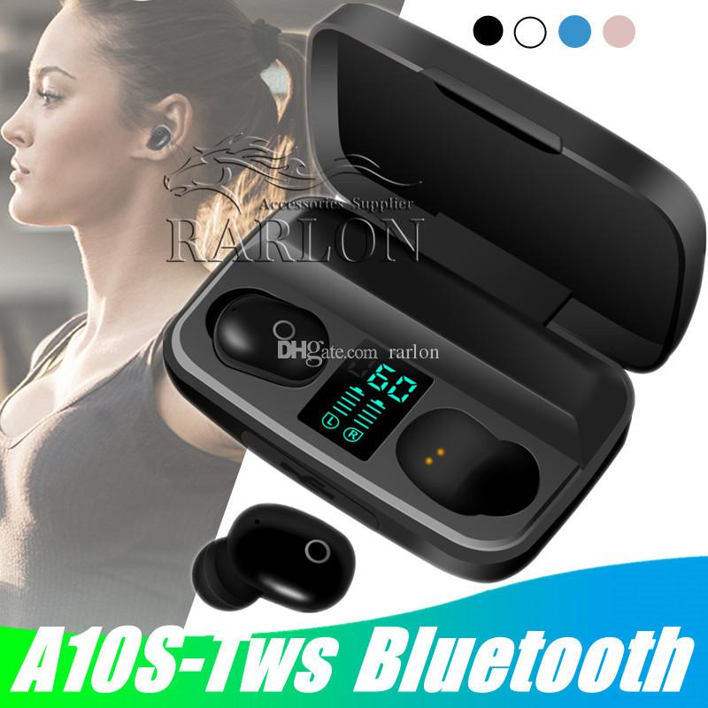 A10s Tws Earphone Bluetooth 5 0 Headphone With Charge Display In Ear Mini Stereo Wireless Earbuds Sports Headset With 1800ma Usb Power Bank Headphones For Phone Mobile Headsets From Rarlon 9 05 Dhgate Com