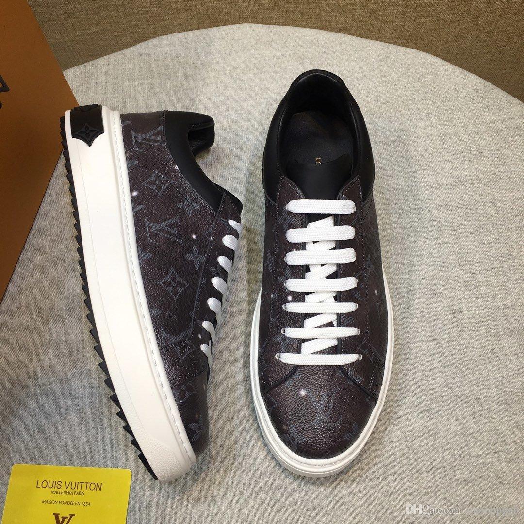 2020QH Fashion Design Мужская обувь с высоким качеством роскошный дизайн кроссовки мужская Повседневная обувь Ace зеленый красный полосатый размер 38-45