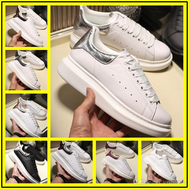 Cheap Mens Cheap Designers Sneaker Casual Shoes Quality Real Leather Sneakers Chaussures Shoes Grey Velvet Sports Sneakers