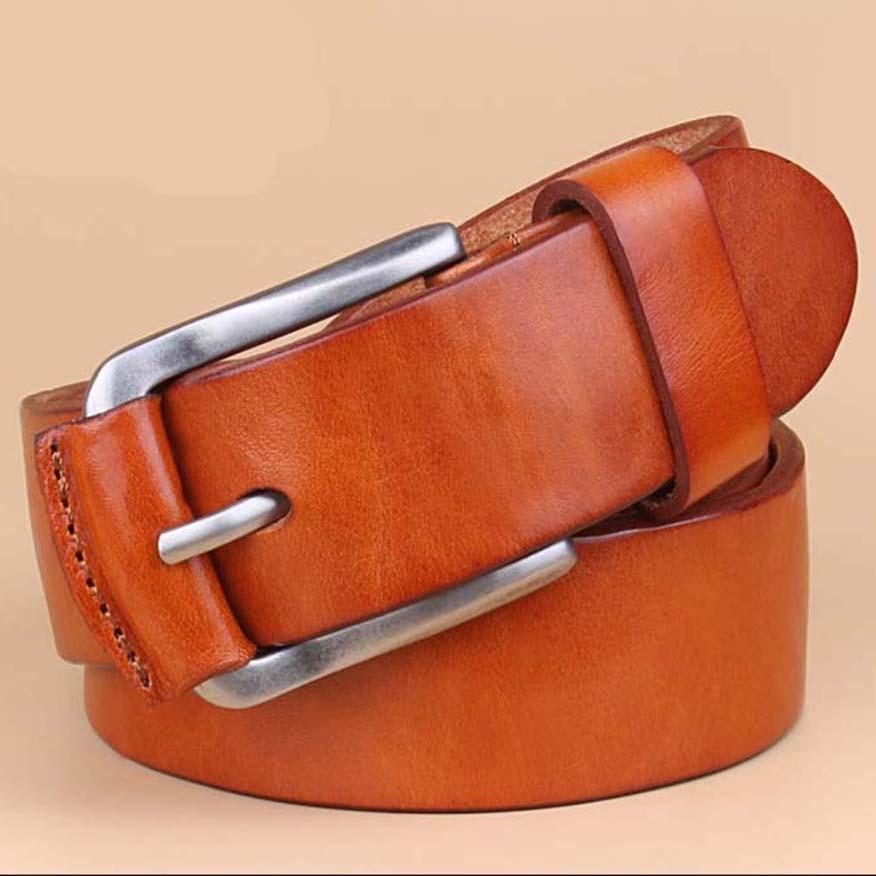 2016 Mode Hommes cuir véritable Ceintures pour la mode ceinture en cuir pour hommes