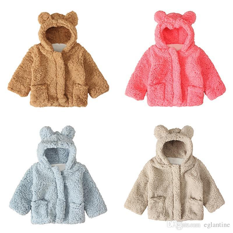 Kinder warmer Wintermantel verdicken Baby-Mädchen-festen lange Hülsen-Oberbekleidung Kleidung